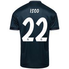 real madrid udebanetrøje 2018/19 isco 22 - fodboldtrøjer