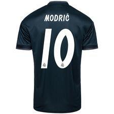 real madrid udebanetrøje 2018/19 modrić 10 - fodboldtrøjer