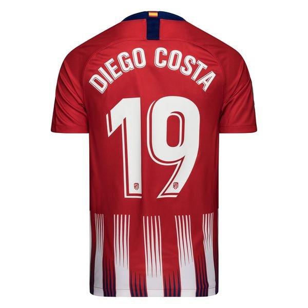 the best attitude b92a1 f8c52 Atletico Madrid Home Shirt 2018/19 DIEGO COSTA 19