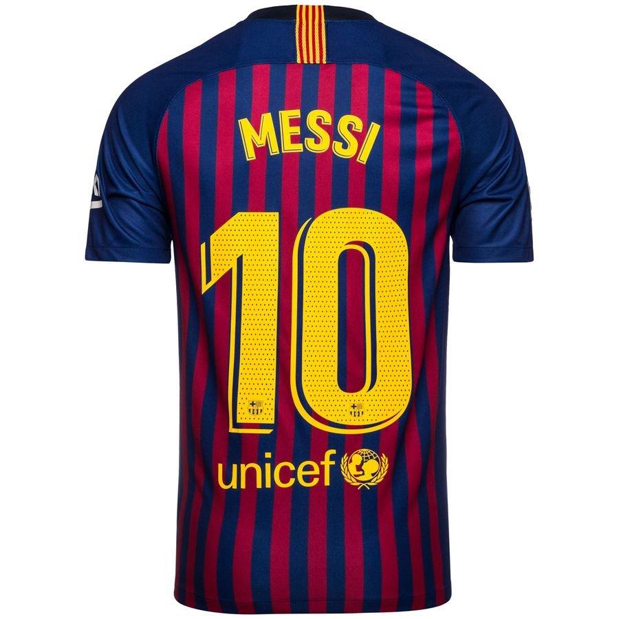 FC Barcelone Maillot Domicile 2018/19 MESSI 10 Enfant