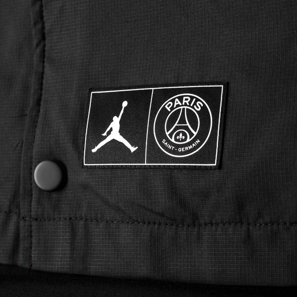c8a5c39083d Nike Jacket coach Jordan x PSG - Black/White LIMITED EDITION | www ...