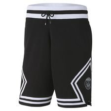 Nike Short Knit Diamond Jordan x PSG - Noir/Blanc ÉDITION LIMITÉE PRÉ-COMMANDE