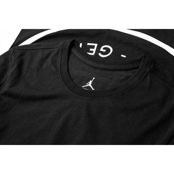 wholesale dealer 35b3f 8a9b5 Nike T-paita Jordan x PSG - Musta Valkoinen LIMITED EDITION 3