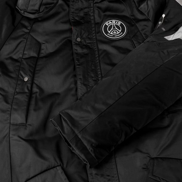 super populaire 708a4 b4e4a Nike Jacket Flight Parka Jordan x PSG - Black LIMITED ...