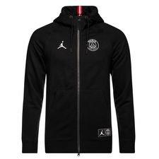 Nike Sweat à Capuche FZ Jordan x PSG - Noir/Blanc ÉDITION LIMITÉE