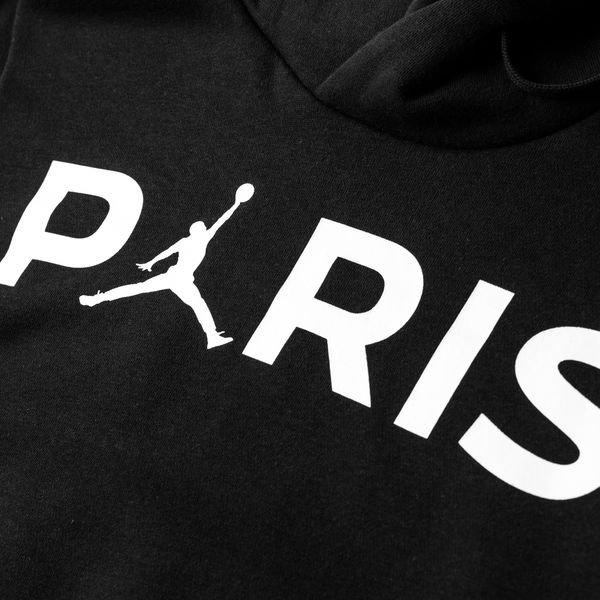 ba2bf025695 ... nike hoodie jumpman po jordan x psg - black white limited edition -  hoodies ...