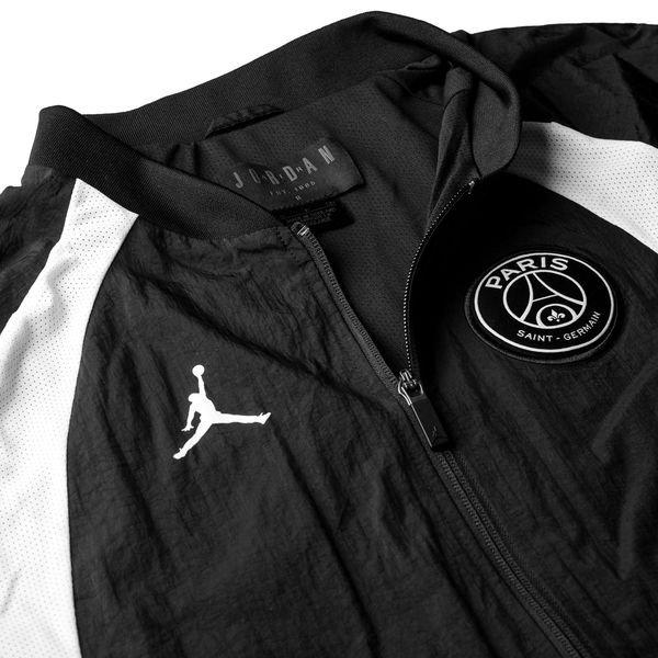 81d386fbd7 ... nike jacket air 1 jordan x psg - black white limited edition - jackets  ...