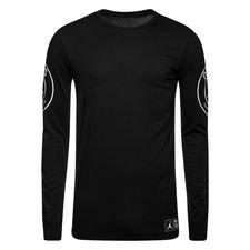 Nike T-Shirt Statement Jordan x PSG - Noir/Blanc Manches Longues ÉDITION LIMITÉE