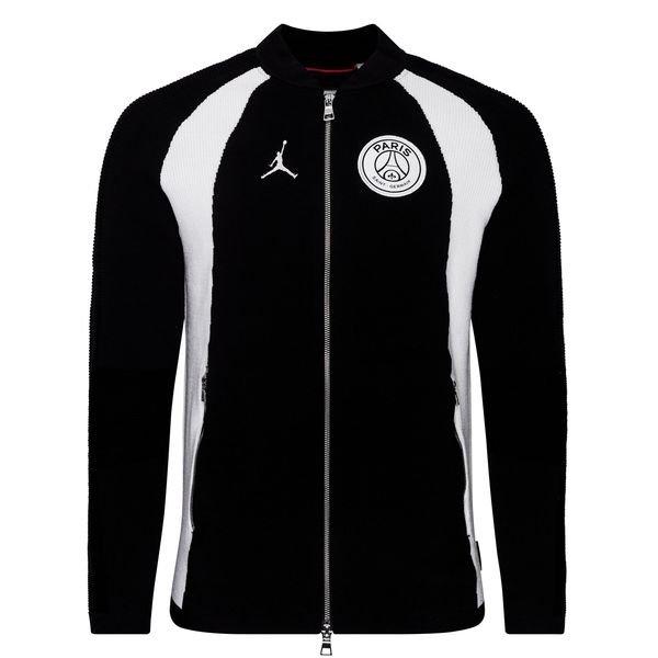 timeless design 6182f 979f8 Nike Shirt Flight Knit FZ Jordan x PSG - Black LIMITED EDITION   www ...