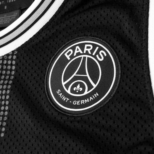 cheaper 484b5 4b8e6 Nike Débardeur Mesh 23 Jordan x PSG - Noir Blanc ÉDITION LIMITÉE 2