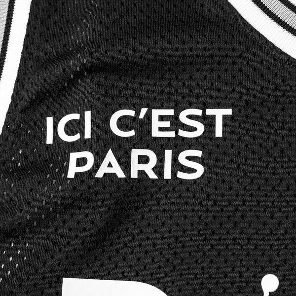separation shoes fc1d4 ad32f Nike Débardeur Mesh 23 Jordan x PSG - Noir Blanc ÉDITION LIMITÉE 3