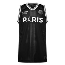 Nike Débardeur Mesh 23 Jordan x PSG - Noir/Blanc ÉDITION LIMITÉE