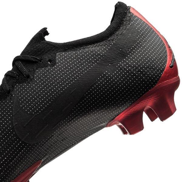 f3072eef5 Nike Vapor 12 Elite FG Jordan x PSG - Black Challenge Red LIMITED EDITION