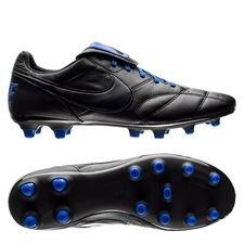 Nike Premier II FG - Zwart/Racer Blue