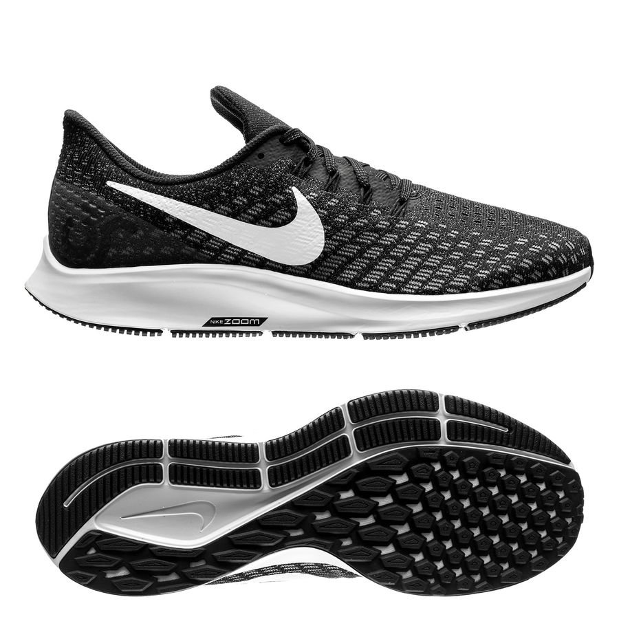 Nike Løbesko Air Zoom Pegasus 35 - Sort/Hvid/Grå thumbnail
