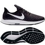 Nike Hardloopschoenen Air Zoom Pegasus 35 - Zwart/Wit/Grijs Vrouw