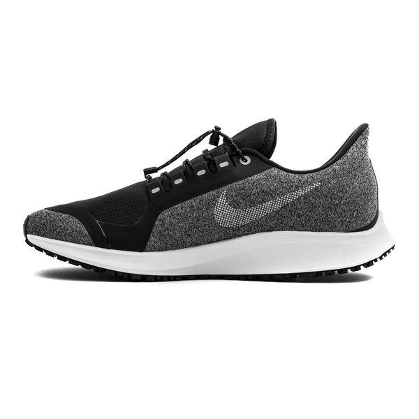 premium selection 8afae adaea Nike Juoksukengät Air Zoom Pegasus 35 Shield - Musta Harmaa Nainen 1