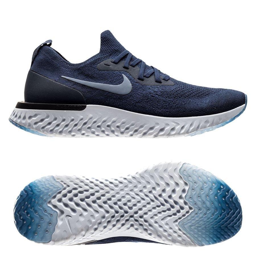 De Marinegris React Epic Flyknit Chaussures Nike Bleu Running 5Fwa01Wvq