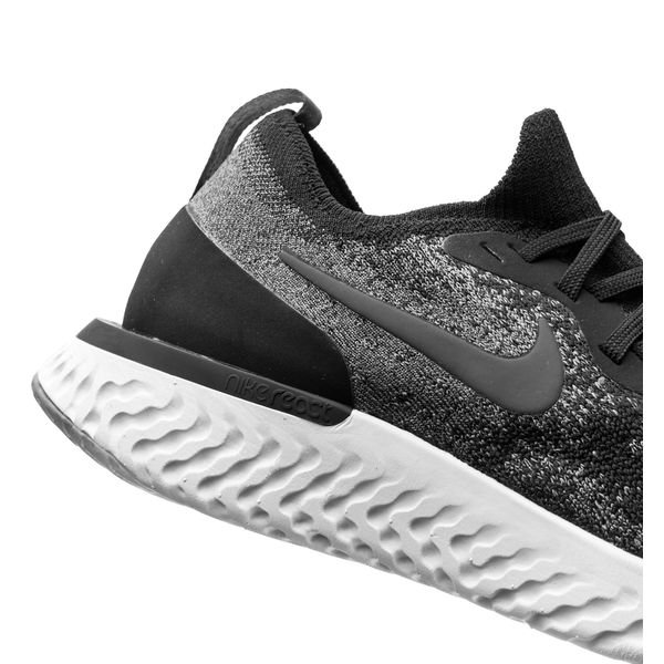 info for 14890 2bd7a Nike Juoksukengät Epic React Flyknit - Musta Harmaa Harmaa Nainen 6