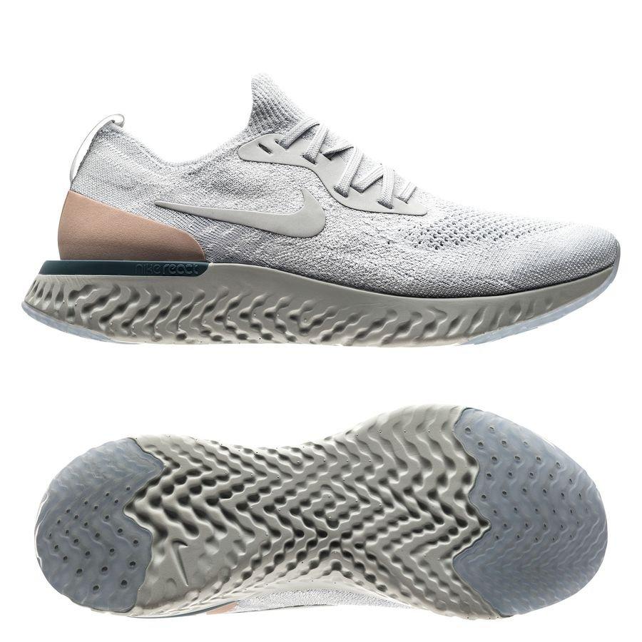 best sneakers 02cc6 ef805 ... italy nike løpesko epic react flyknit grå dame løpesko fa4f7 dc338