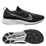 Nike Hardloopschoenen Zoom Fly - Zwart/Grijs/Wit