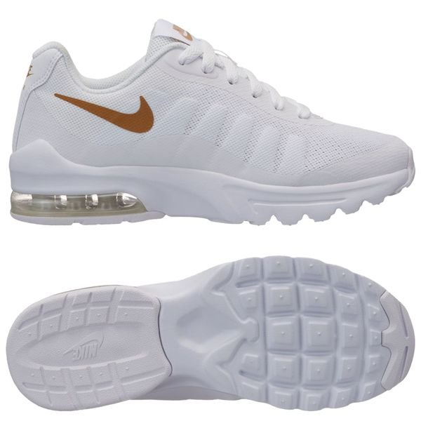 4df684c7f3 Nike Air Max Invigor - White/Metallic Gold Kids | www.unisportstore.com