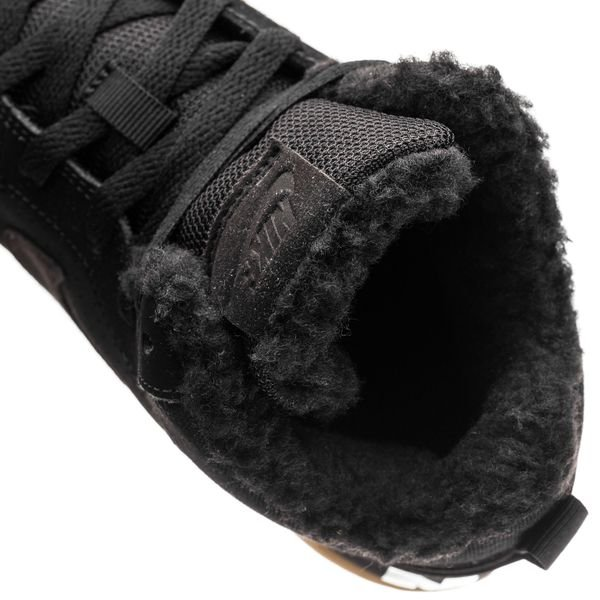 best website 82ea0 f282f Nike Court Borough Mid Vinter - SortBrun Børn