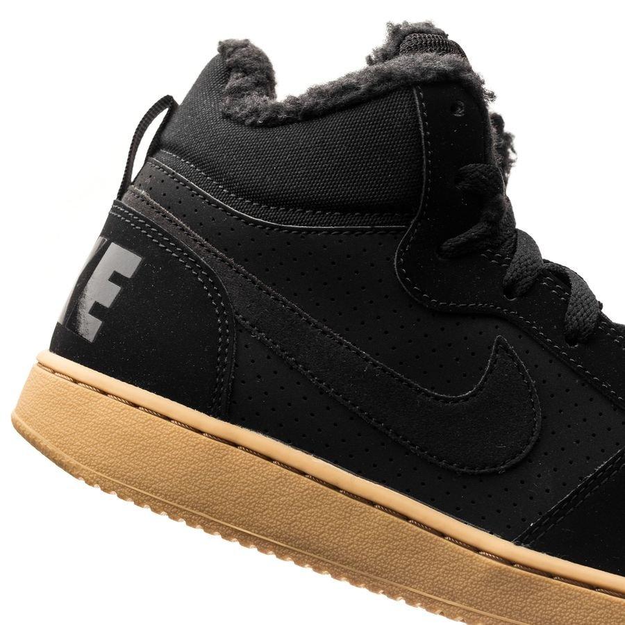 new product 00662 0affc Nike Court Borough Mid Vinter - SortBrun Børn  www.unisport.