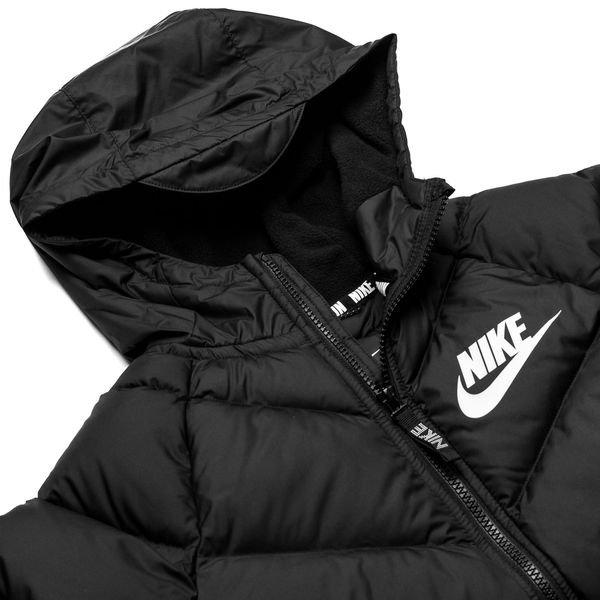 ad701532d Nike NSW Vinterjakke Parka - Sort/Hvid Børn