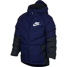 Image of   Nike NSW Vinterjakke Parka - Blå/Sort Børn