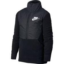 Image of   Nike Jakke NSW Winterized 1/2 Zip - Sort/Grå Børn