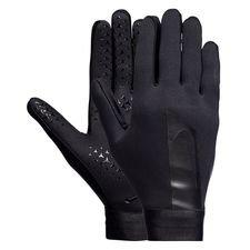 nike gants de joueur academy hyperwarm - noir - gants de joueur