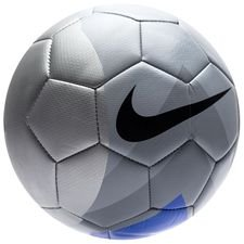 nike fotboll phantom veer always forward - silver/blå/svart - fotbollar