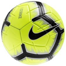 Image of   Nike Fodbold Strike - Neon/Sølv/Sort