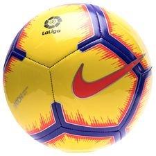 Image of   Nike Fodbold Pitch La Liga Hi-Vis - Gul/Lilla/Rød