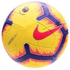 nike fodbold magia premier league hi-vis - gul/lilla/rød - fodbolde
