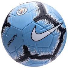 Image of   Manchester City Fodbold Strike - Blå/Navy/Hvid