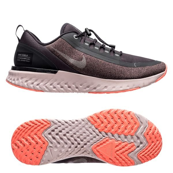 6d614c9947174f Nike Laufschuhe Odyssey React Shield - Grau Silber Damen 0