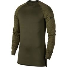 Nike Pro Utility Therma Compression L/S - Olive Canvas/Black