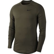 Nike Pro Therma Warm Compression L/Æ - Grøn/Sort