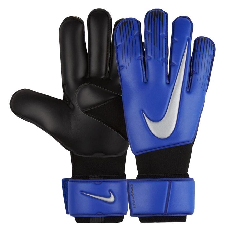 nike goalkeeper gloves vapor grip 3 always forward - racer  blue black metallic silver ... cb7ef4ff265a