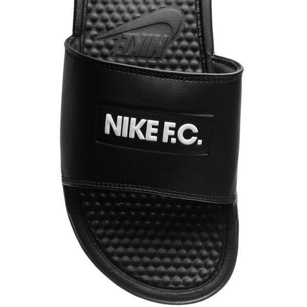 b2504fc50258 Nike F.C. Badesandal Benassi JDI - Sort Hvid