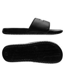 nike f.c. badesandal benassi jdi - sort/hvid - sandaler