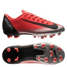 Nike Mercurial Vapor 12 Academy MG CR7 Chapter 7: Built On Dreams - Röd/Svart Barn