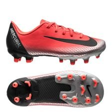 Nike Mercurial Vapor 12 Academy MG CR7 Chapter 7: Built On Dreams - Rood/Zwart K