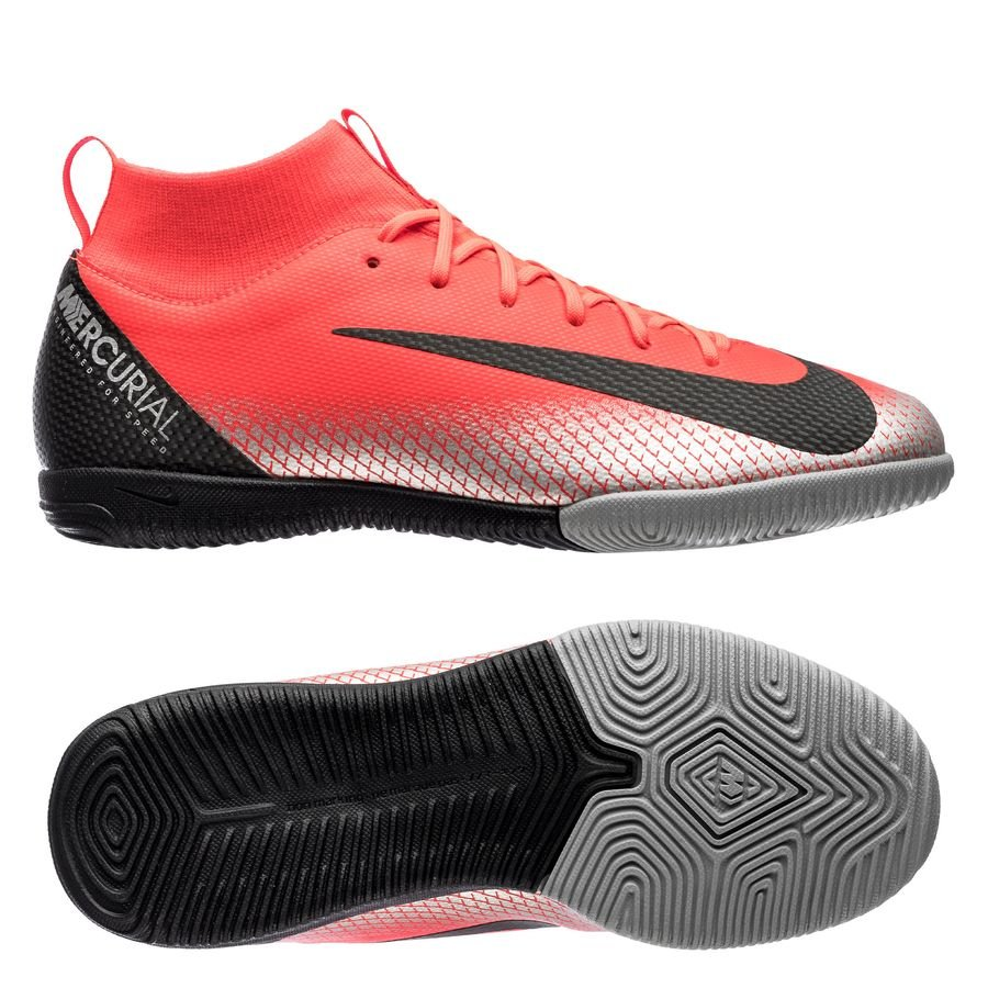 Nike Mercurial Superfly 6 Academy IC CR7 Chapter 7: Built On Dreams - Rouge/Noir Enfant