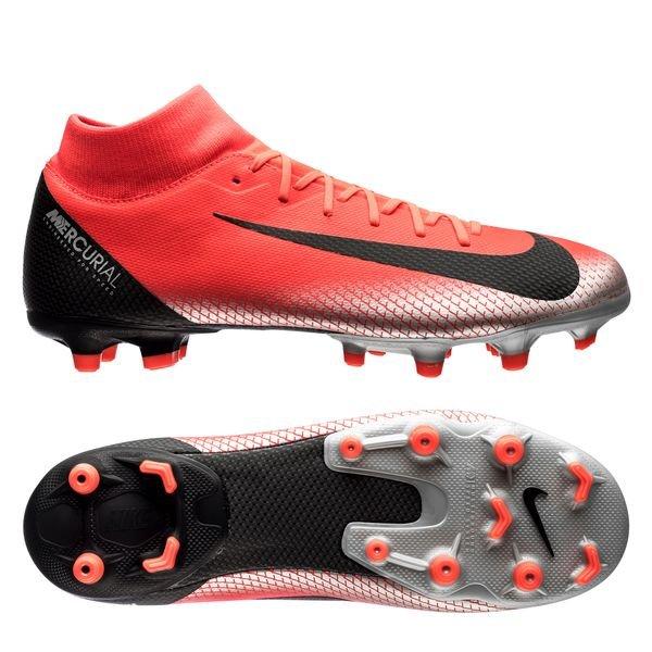 Nike Jr. Mercurial Superfly VI Academy CR7 MG Kinder Fussballschuhe Nocken AJ3111 390, Größe:38