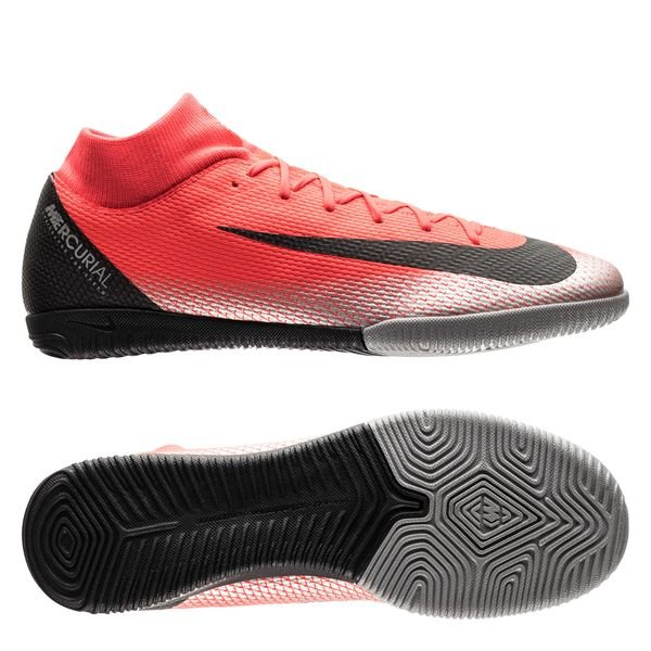 Nike Mercurial SuperflyX 6 Academy IC CR7 - Rød/Sort