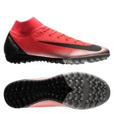 Nike Mercurial SuperflyX 6 Academy TF CR7 Chapter 7: Built On Dreams - Röd/Svart
