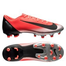 Nike Mercurial Vapor 12 Academy MG CR7 Chapter 7: Built On Dreams - Röd/Svart